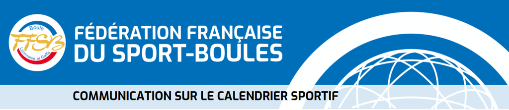 Communication calendrier sportif