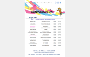 Convocation stage U15