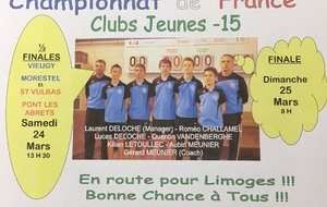 1/2 finale championnat de France club U15